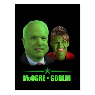 Carte Postale Un Halloween républicain !