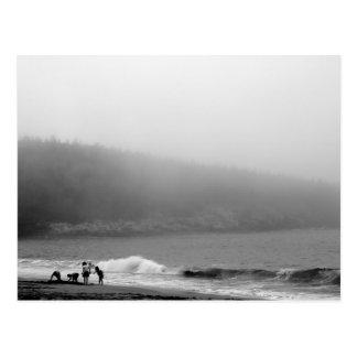 Carte Postale Un jour à la plage - Maine