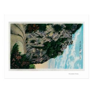 Carte Postale Un mille de haut, à Mt. LoweMt. Lowe, CA