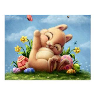 Carte Postale Un petit lapin de Pâques