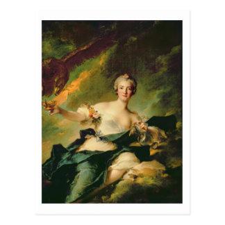 Carte Postale Un portrait d'Anne Josephe Bonnnier de la Mossau (