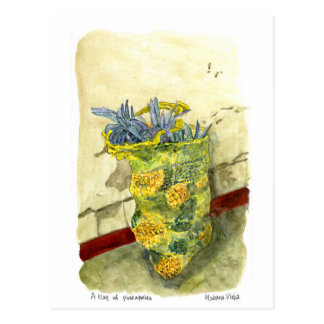 Carte Postale Un sac des ananas, La Havane, Cuba