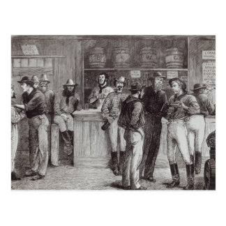 Carte Postale Un shout', général à l'intérieur d'une taverne de