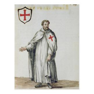 Carte Postale Un Templar vénitien