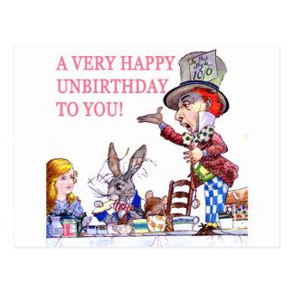 Carte Postale Un Unbirthday très heureux à vous !