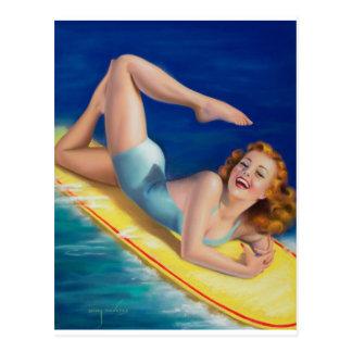 Carte Postale Une beauté américaine, Pin 1940 de calendarc vers