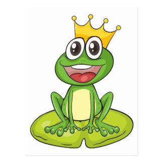 Carte Postale une grenouille