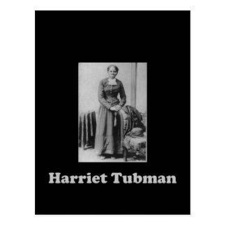 Carte Postale Une image de Harriet Tubman en noir et blanc
