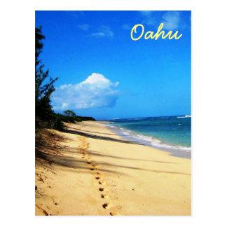 Carte Postale Une promenade sur Oahu