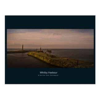 Carte Postale Une soirée mystique sur le pilier de Whitby