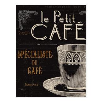 Carte Postale Une tasse de café contemporaine
