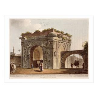 Carte Postale Une voûte triomphale de Tripoli dans Barbarie,