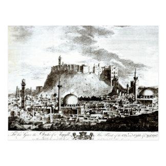 Carte Postale Une vue de la ville et du château d'Alep, Syrie