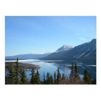 Carte Postale Une vue pittoresque dans Skagway, Alaska
