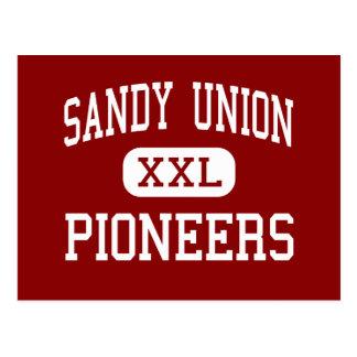 Carte Postale Union de Sandy - pionniers - haute - Sandy Orégon