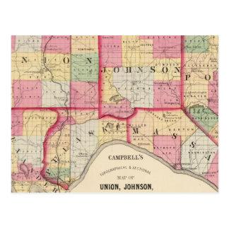 Carte Postale Union, Johnson, Alexandre, Pulaski