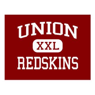 Carte Postale Union - Peaux Rouges - collège - Tulsa l'Oklahoma
