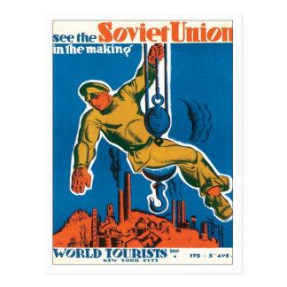 Carte Postale Union Soviétique Russie
