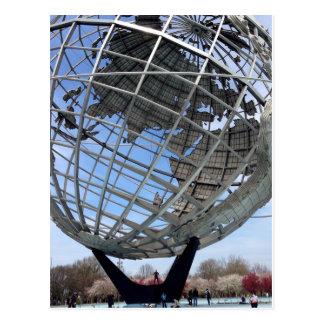 Carte Postale Unisphere, au sol de l'Exposition universelle,