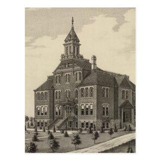 Carte Postale Université centrale du Kansas
