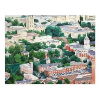 """Carte Postale Université de """"enseignement supérieur"""" du Missouri"""
