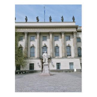 Carte Postale Université de Humboldt à Berlin