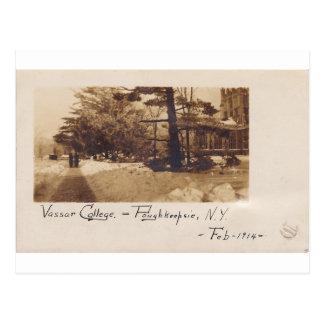 Carte Postale Université de Vassar, février 1914