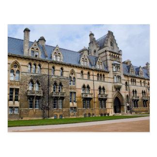 Carte Postale Université d'église du Christ à Oxford, Angleterre