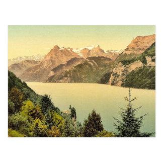 Carte Postale Urnersee et Urirotstock, luzerne de lac,