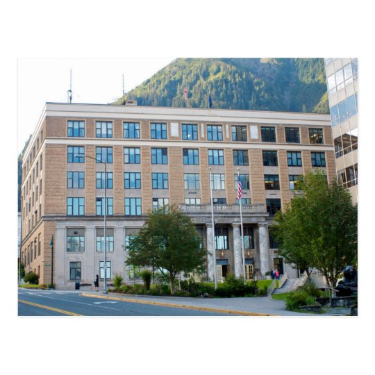 Carte Postale USA - Alaska - Juneau - State Capital Building