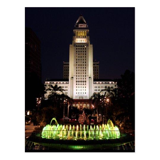 Carte Postale USA - California - Los Angeles - City Hall