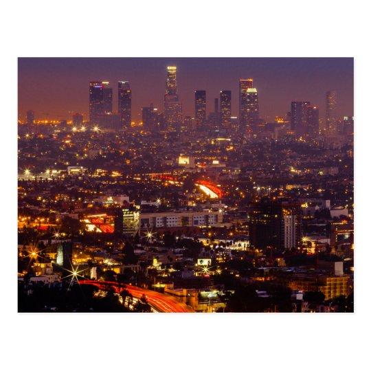 Carte Postale USA - California - Los Angeles - Mulholland Dr.