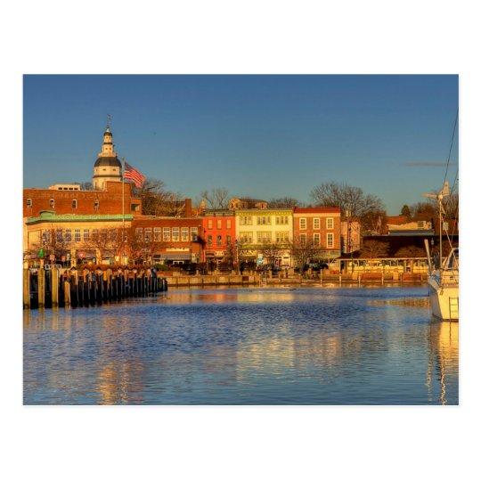 Carte Postale USA - Maryland - Annapolis - City Dock (Ego Alley)