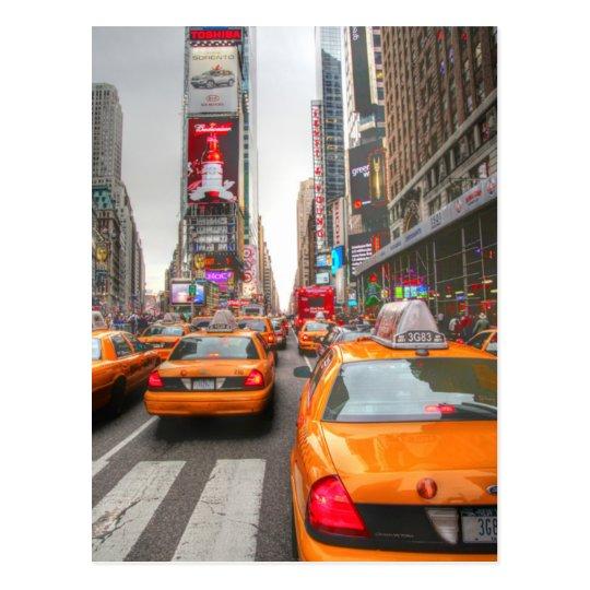 Carte Postale USA - New York - Times Square Circulation