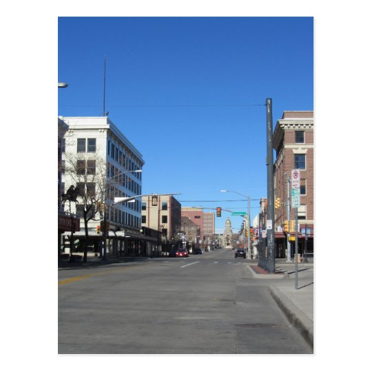 Carte Postale USA - Wyoming - Cheyenne - Capitol Avenue