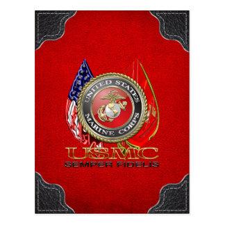 Carte Postale Usmc Semper fi [Edition spéciale] [3D]