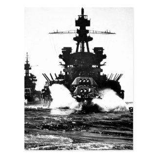 Carte Postale USS PENNSYLVANIE et image of_War de cuirassé