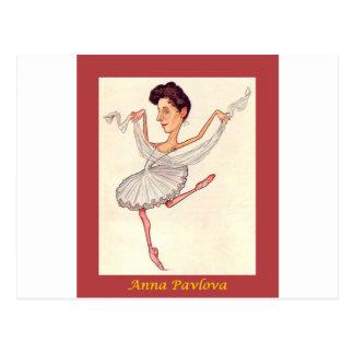 Carte Postale Vacherin russe d'Anna de ~ de caricature de