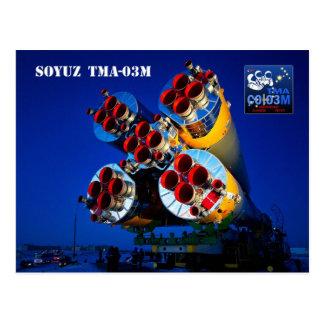 Carte Postale Vaisseau spatial de Soyuz TMA-03M, Kazakhstan