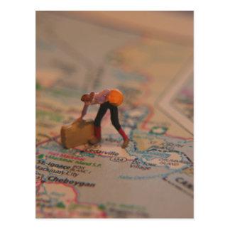 Carte Postale Valise