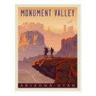 Carte Postale Vallée | Arizona et Utah de monument