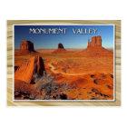Carte Postale Vallée, l'Utah et l'Arizona de monument
