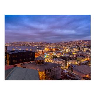 Carte Postale Valparaiso at Night