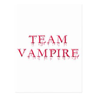 Carte Postale Vampire d'équipe