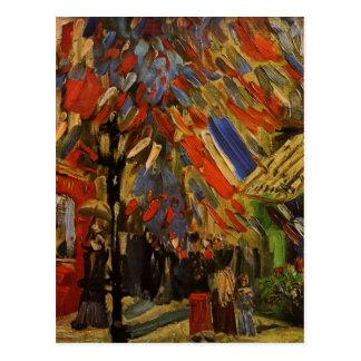 Carte Postale Van Gogh ; 14ème de la célébration de juillet à