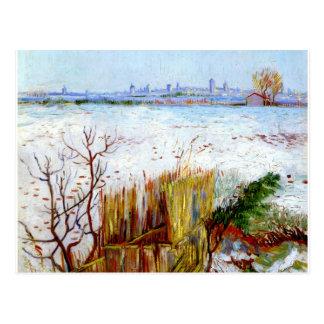 Carte Postale Van Gogh-Milou Landscape avec Arles à