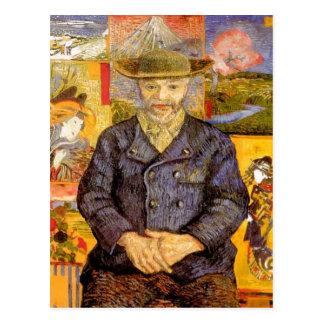 Carte Postale Van Gogh - portrait de P ? Tanguy re (père Tanguy)