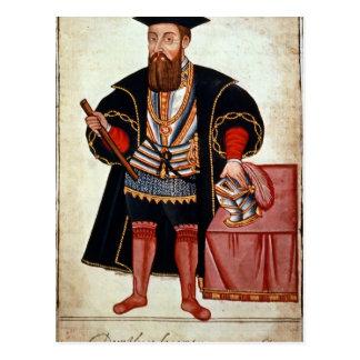 Carte Postale Vasco da Gama, illustration