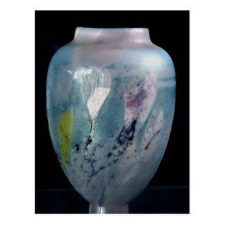 """Carte Postale Vase en cristal, """"d'Automne de Les Veilleuses"""","""