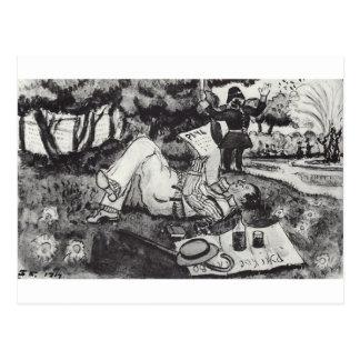 Carte Postale Vasiliy Luzhsky des vacances dans Hyde Park de